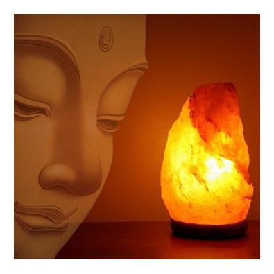 lampara de sal del himalaya para meditacion